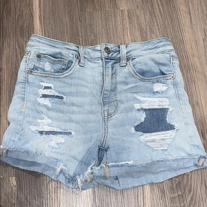 American Eagle Super Hi-Rise shorts